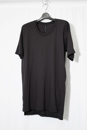 nude:mm T SHIRT CHARCOAL