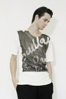 nude:mm PRINT T SHIRT'WINDOW'