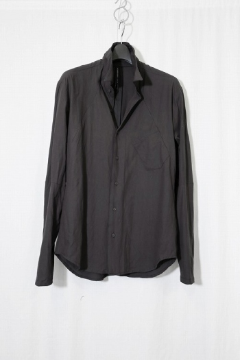 nude:mm SHIRT CHARCOAL