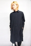 Sise 18SS BIG LONG SHIRT BLACK_ss82