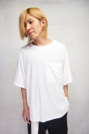 【30%OFF+ポイント10倍】Sise BIG POCKET T-SHIRTS WHT_ss82