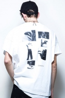 DIET BUTCHER SLIM SKIN 17SS コラージュTシャツ WH