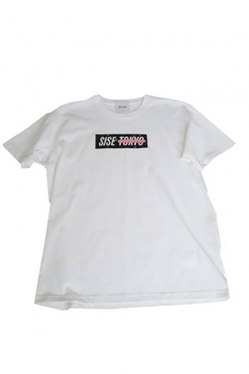 【20%OFF+ポイント15倍】Sise 17SS TOKYO PINK T-SHIRT WHITE
