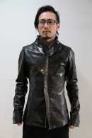 【予約】lien 16AW hi leather BLACK