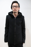 【予約】lien 16AW 4pocket hi parka BLACK