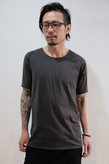 【予約】lien 16AW 1arm H/S GRAY