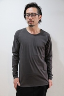 【予約】lien 16AW 1arm L/S GRAY