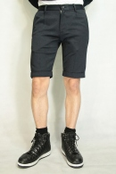 AKM 16SS TUCK SHORTS NAVY BLACK
