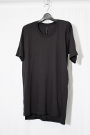 【30%OFF+ポイント10倍】nude:mm T SHIRT CHARCOAL