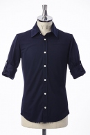 AKM ROLL-UP SHIRTS BLUE BLACK