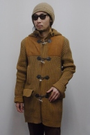 【50%OFF】N4 ニットダッフルコート BEIGE