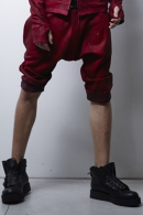 kiryuyrik 16SS Sarrouel Patch Pocket Pants Red