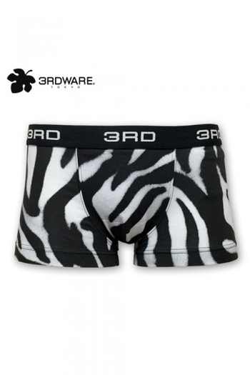 3RDWARE zebra on zebra ボクサーパンツ