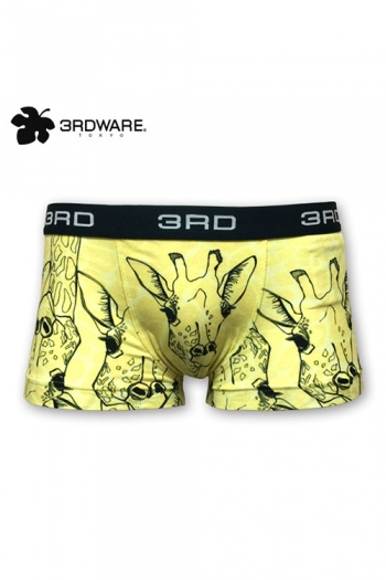 3RDWARE repeat giraffes ボクサーパンツ