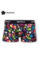 3RDWARE smoking colorful skull ボクサーパンツ