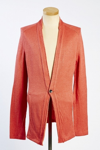 VADEL 16SS solid cardigan ORANGE