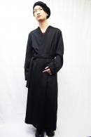 SISE 18AW LONG GOWN COAT_ss85