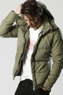 【ポイント10倍】wjk 18AW military down parka_wj85