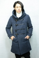 OURET 15AW ロングダッフルコート NAVY