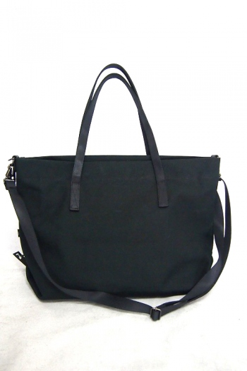 【ポイント10倍】wjk canvas tote black