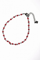 wjk 16SS glassanklet red x blk