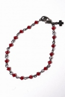 wjk 16SS glassbracelet red x blk
