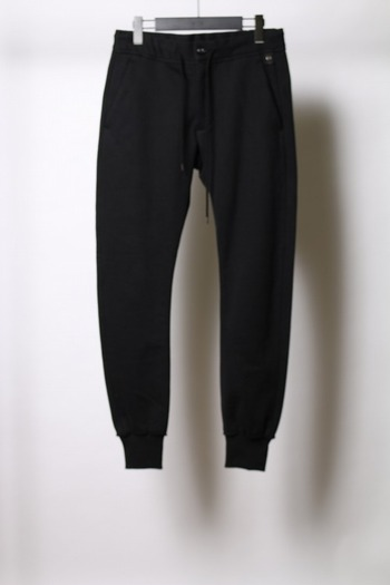 wjk side stripe pants black