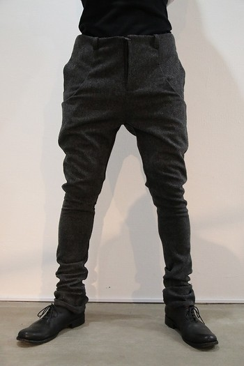 【予約】lien 16AW 6pocket GRAY