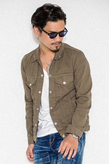 【50%OFF】RESOUND 3RD Shirt G KHAKI