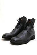 【予約】nil admirari BackZipLaceupBoots Black