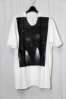 nude:mm 17SS プリントTシャツ'LIGHTS' OFF WHITE