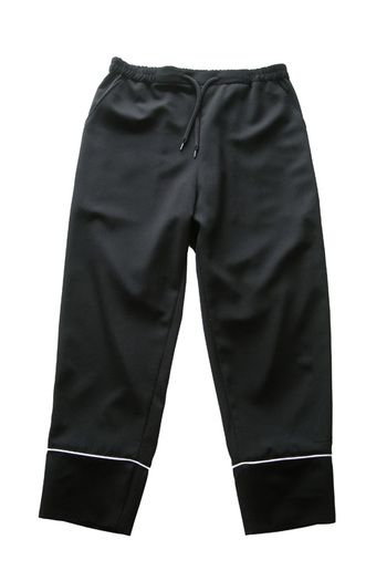 Sise PAJAMA PANTS BLACK