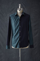 VADEL wired shirts NAVY