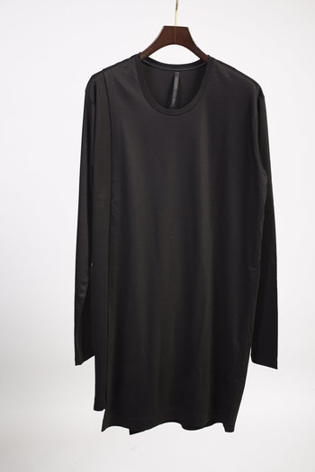 GalaabenD 17PS Layered Long T-Shirt BLACK