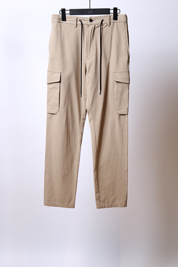 wjk 17SS simple cargo PT beige