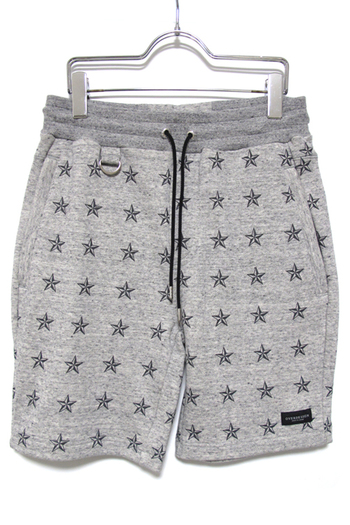 OVERDESIGN 17SS SWEAT SHORTS ALL STAR GRAY