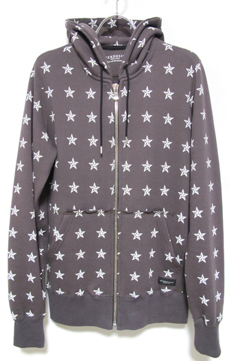 OVERDESIGN 17SS ZIP HOODIE ALL STAR CHARCOAL