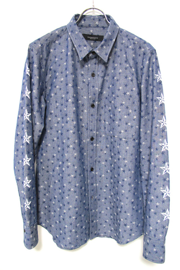 OVERDESIGN 17SS CHAMBRAY SHIRTS NAUTICAL STAR