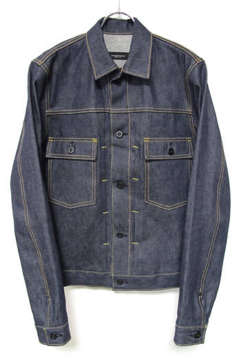 OVERDESIGN 17SS DENIM JACKET RIGID