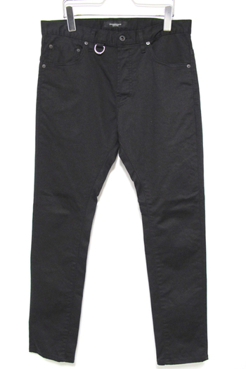 【予約】OVERDESIGN 17SS ANKLE CUT COLOR CHINO BLACK
