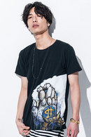 【予約】glamb×JOJO 17SM The Hand T Black