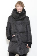 nude:mm 17AW ポリエステルタフタ DOWN JACKET BLACK