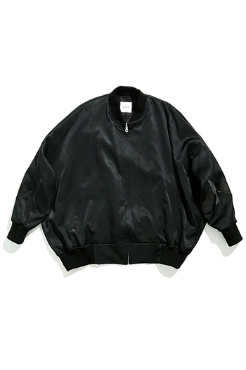 Sise 17AW BALLOON BLOUSON BLACK