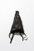 The Viridi-anne 17AW コーティングメルトンBAG BLACK