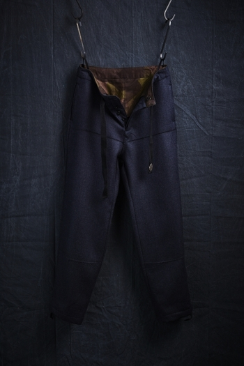 【予約】VADEL 17AW TROUSERS WINDPROOF NAVY