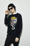 【予約】ATM7 17AW BIG PULLOVER MONROO/NYC DREAM BK