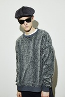 【予約】ATM7 17AW Poodle Fur Big Trainer D.GRAY
