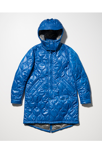 【予約】SEVESKIG 17AW LIGHT QUILT WARM M-51 BLUE