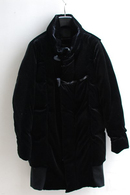 【予約】OURET 17AW TOGGLE DOWN COAT BLACK