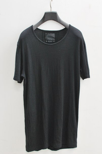 【予約】OURET 17AW CREW NECK SHORT SLEEVE BLACK